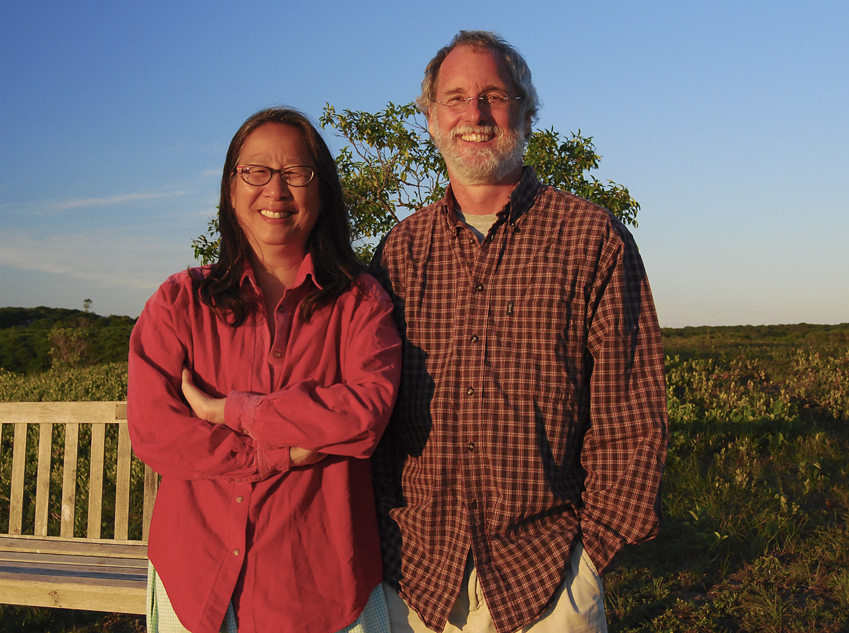 Claire Chang and John Ward